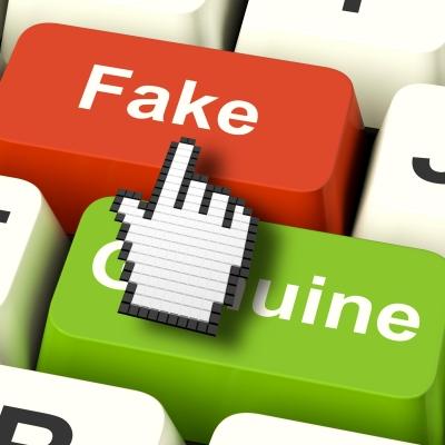 fake, phony, counterfiet