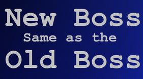 old boss, new boss
