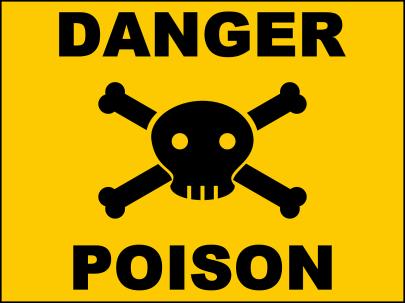 poison: danger
