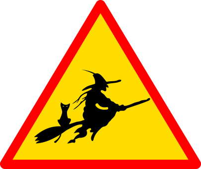 warning for witches