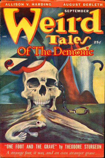 Weird Tales of the Demonic