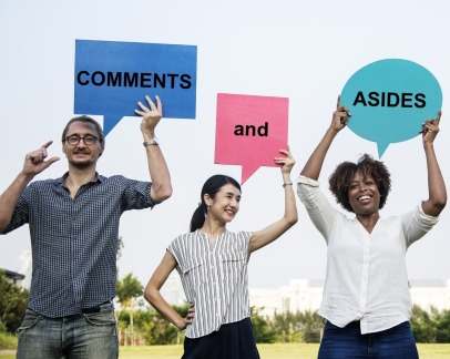 Comments and Asides