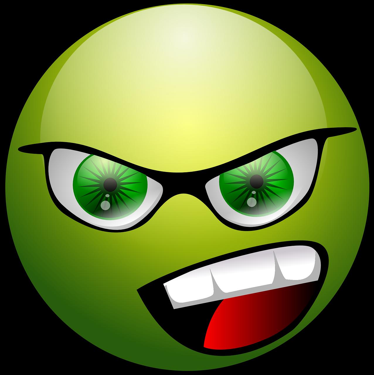 frustration, anger