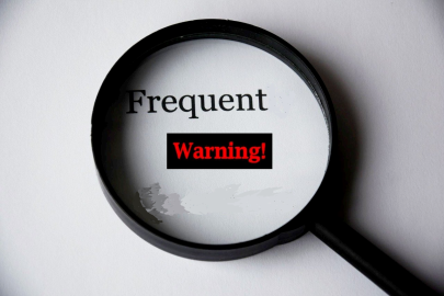 frequent warning